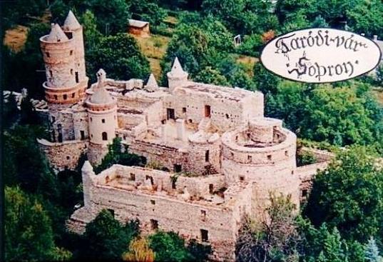 Soproni Taródi-vár / Bolondvár / soproni vár látogatása idegenvezetéssel