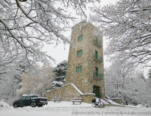 Így érkezett a tél Sopronba