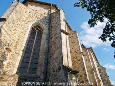 A Pálos templom és kolostor Sopronbánfalva ékköve