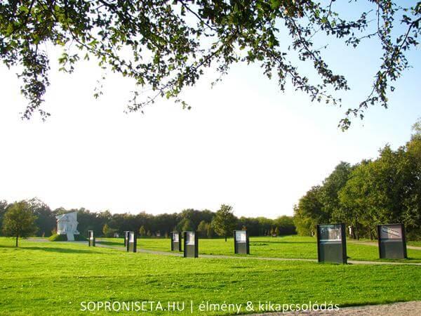 Páneurópai Piknik Emlékpark Fertőmeggyes után
