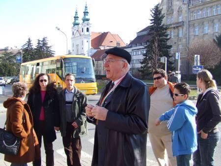Idegenvezetők Világnapja Sopronban Kiss János soproni idegenvezetővel