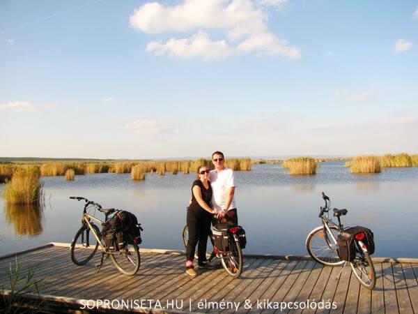 Úton Rusztra a gólyák városába kerékpárral